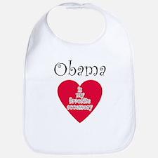 Unique I heart obama Bib