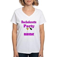 Bride Bachelorette Party Shirt