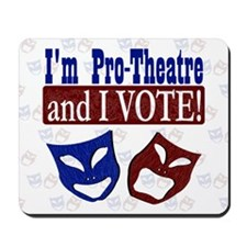 Pro Theatre Vote Mousepad