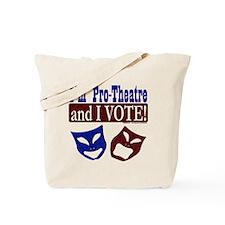 Pro Theatre Vote Tote Bag