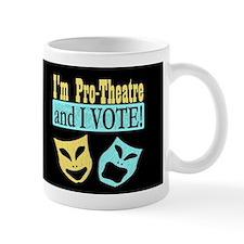 Pro Theatre Vote Dark Mug