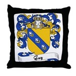 Gay Family Crest Throw Pillow