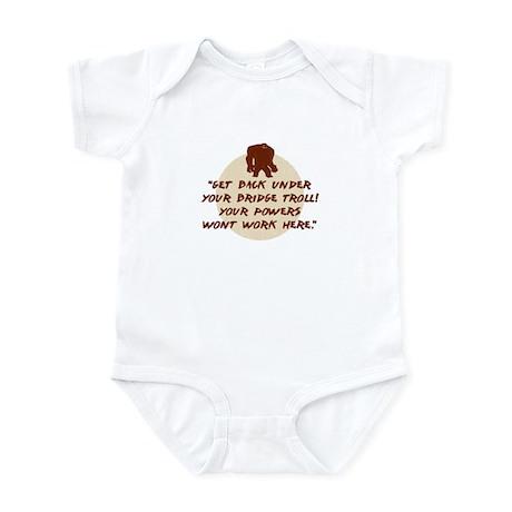 Troll Under the Bridge Infant Bodysuit