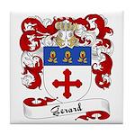 Gerard Family Crest Tile Coaster