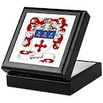 Gerard Family Crest Keepsake Box