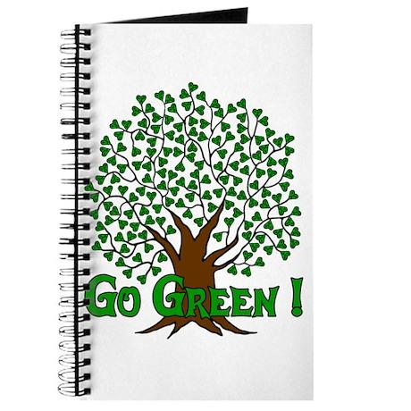 Go Green Tree Journal