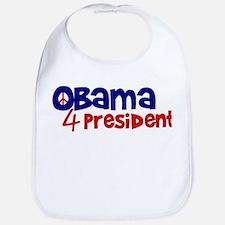 Obama 4 President Bib