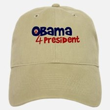 Obama 4 President Baseball Baseball Cap