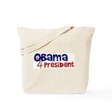 Obama 4 President Tote Bag