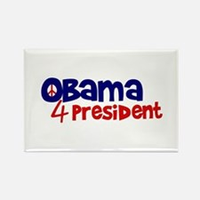 Obama 4 President Rectangle Magnet