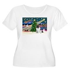 Xmas Magic & Newfie T-Shirt