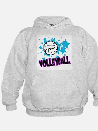 Volleyball Stars Hoodie