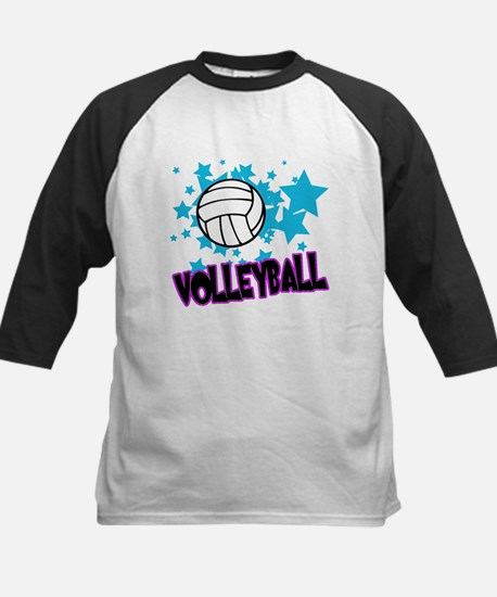 Volleyball Stars Kids Baseball Jersey