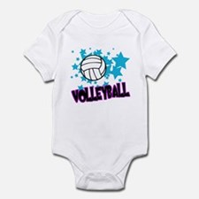 Volleyball Stars Infant Bodysuit