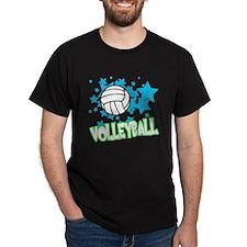 Volleyball Stars T-Shirt