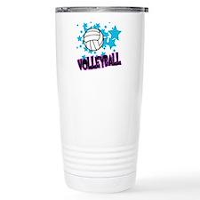 Volleyball Stars Travel Mug