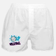 Volleyball Stars Boxer Shorts