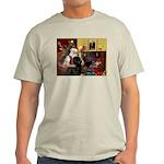 Santa's Newfie Light T-Shirt