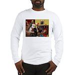 Santa's Newfie Long Sleeve T-Shirt