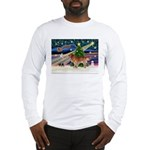 XmasStar/Nova Scotia dog Long Sleeve T-Shirt
