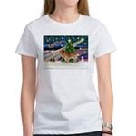 XmasStar/Nova Scotia dog Women's T-Shirt