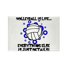 Volleyball Is Life... Rectangle Magnet