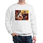 Santa/Nova Scotia Dog Sweatshirt