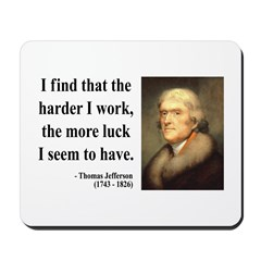 Thomas Jefferson 21 Mousepad