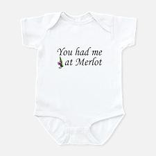 You Had Me At Merlot Infant Bodysuit