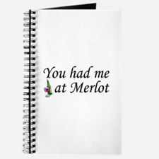 You Had Me At Merlot Journal