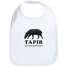 Cute Tapirs Bib