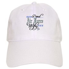 usaf proud wifey Baseball Cap