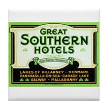 Great Southern Hotels (Ireland) Tile Coaster