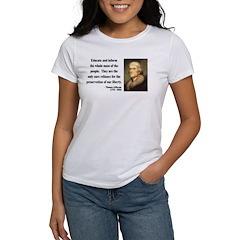 Thomas Jefferson 22 Women's T-Shirt