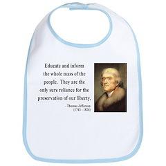 Thomas Jefferson 22 Bib