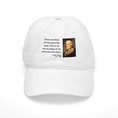 Thomas Jefferson 22 Baseball Cap