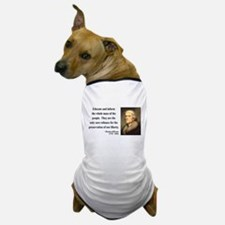 Thomas Jefferson 22 Dog T-Shirt
