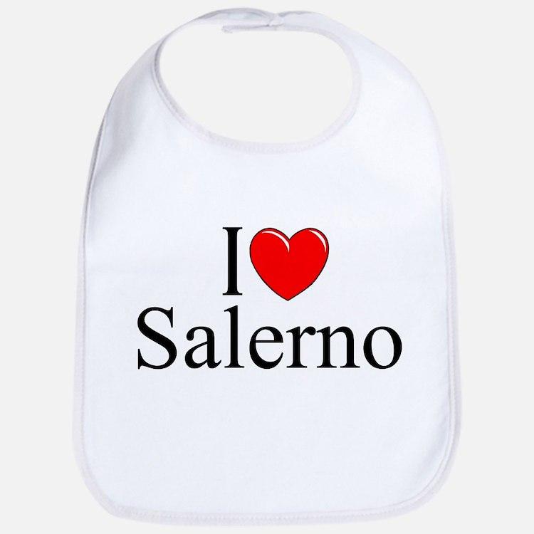 """""""I Love (Heart) Salerno"""" Bib"""