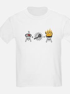 Harold's Hot Birthday Kids T-Shirt
