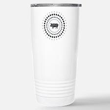 Pig Chrome Studs Travel Mug