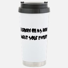 excuse? Stainless Steel Travel Mug