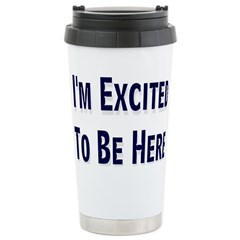 Excited Travel Mug
