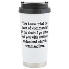 command Travel Coffee Mug
