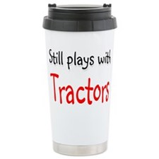 Still plays with Tractors Thermos Mug