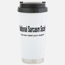 National Sarcasm Society ... Travel Mug