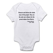 Thomas Jefferson 22 Infant Bodysuit