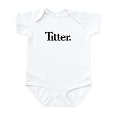 Titter Infant Bodysuit