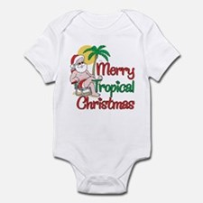 MERRY TROPICAL CHRISTMAS! Infant Bodysuit