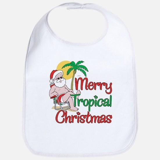 MERRY TROPICAL CHRISTMAS! Bib