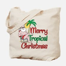 MERRY TROPICAL CHRISTMAS! Tote Bag